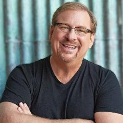 Rick Warren.