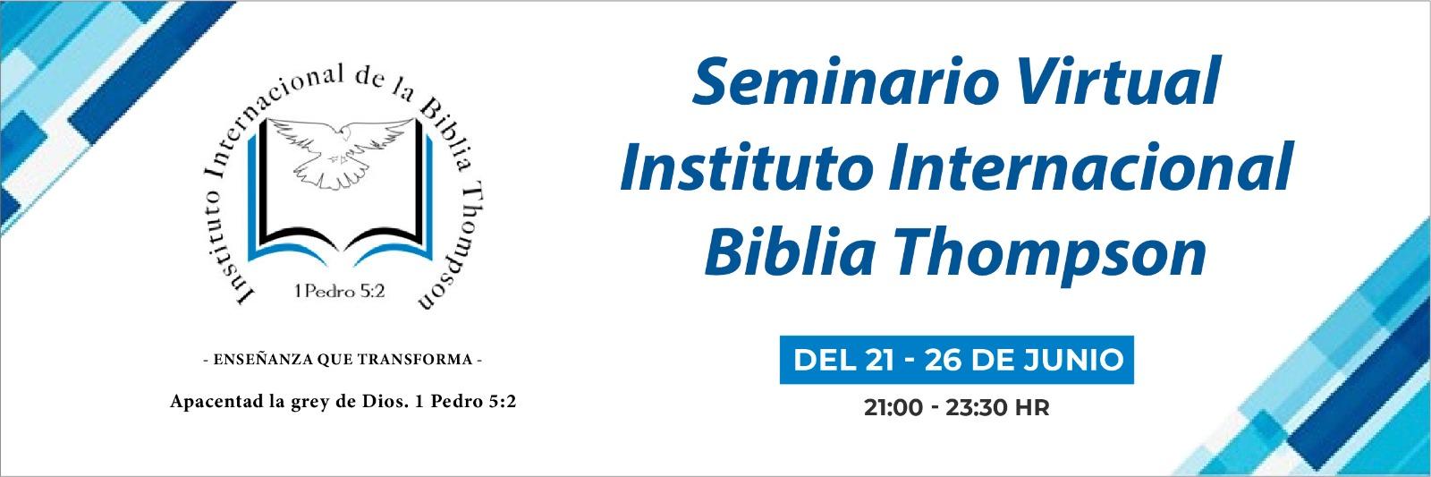 0   Biblia Seminario Thompson
