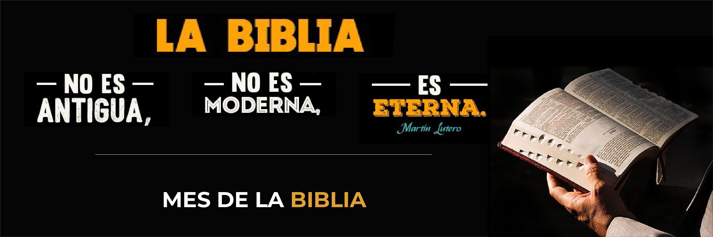 0 Mes de la Biblia