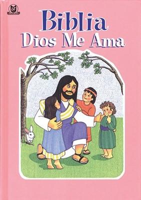 Biblia Dios me Ama (Tapa Rústica) [Biblia]