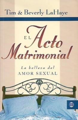 Acto Matrimonial (Tapa Rústica) [Libro]