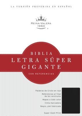 Biblia Letra Súper Gigante Vinil Negro (Tapa Suave) [Biblia]