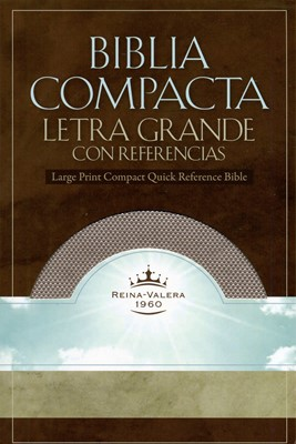 Biblia Compacta Imitación Cuero Rosado Cristal (Tapa Suave) [Biblia]