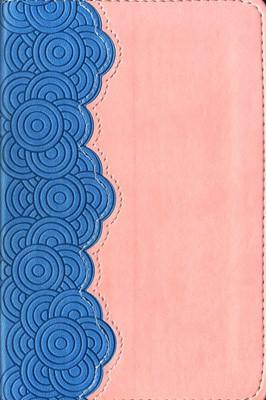 Biblia Bolsillo Ultrafina Azul Coral (Tapa Suave) [Biblia]