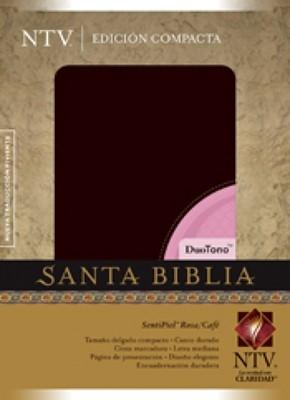Biblia NTV Compacta Rosa/Cafe (Tapa Suave) [Biblia]
