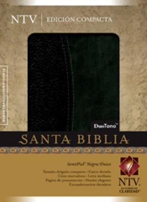 Biblia NTV Compacta Negro/Onice (Tapa Suave) [Biblia]