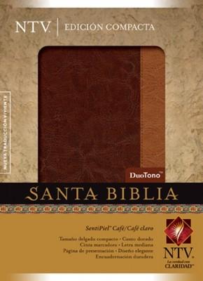 Biblia NTV Compacta Café/Café Claro (Tapa Suave) [Biblia]