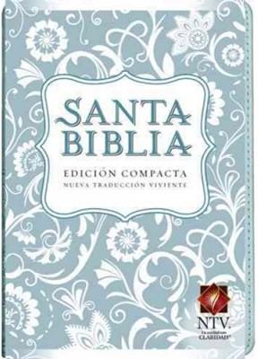 Biblia NTV Compacta Azul Claro (Tapa Suave) [Biblia]