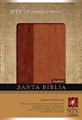 Biblia NTV Duo tono Gris/Gris Claro (Tapa Suave) [Biblia]