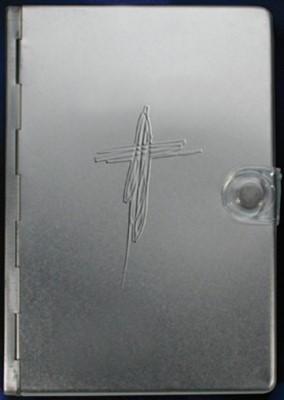 Biblia NTV Metal Plata (Tapa Dura) [Biblia]