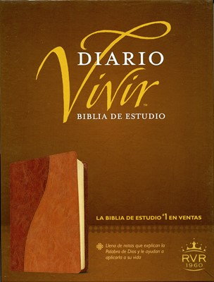 Biblia Estudio Diario Vivir Café/Café Claro (Tapa Suave) [Biblia]