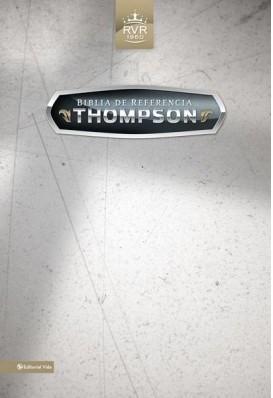 Biblia Thompson Piel Negra (Tapa Suave) [Biblia]