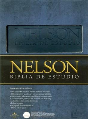 Biblia Nelson de Estudio (Tapa Suave) [Biblia]