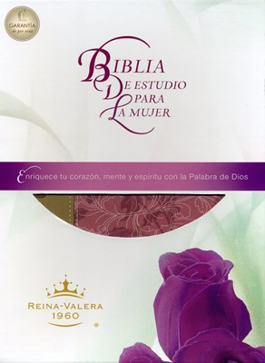 Biblia de Estudio Para la Mujer Piel (Tapa Suave) [Biblia]