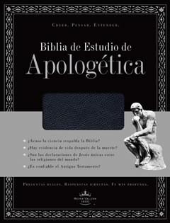 Biblia Estudio Apologética Imitación Piel Negra (Tapa Suave) [Biblia]