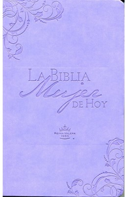 Biblia Mujer de Hoy Piel Lila (Tapa Suave) [Biblia]