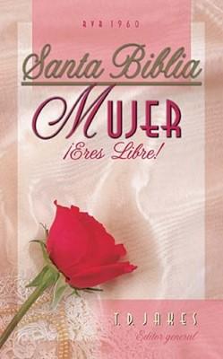 Biblia Mujer Eres Libre (Tapa Suave) [Biblia]