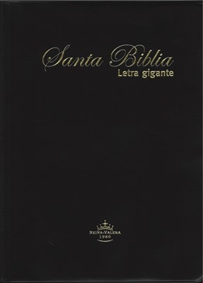 Biblia Letra Gigante Vinil Negro (Tapa Suave) [Biblia]