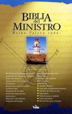 Biblia Del Ministro RVR60 Imitación Negro (Tapa Suave) [Biblia]