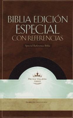 Biblia con Índice Piel Fabricada Negra (Tapa Suave) [Biblia]