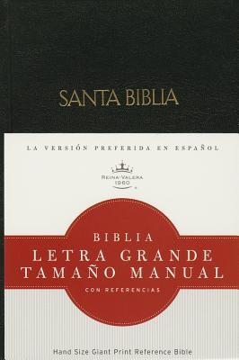 Biblia Letra Grande con Índice Negro (Tapa Dura) [Biblia]