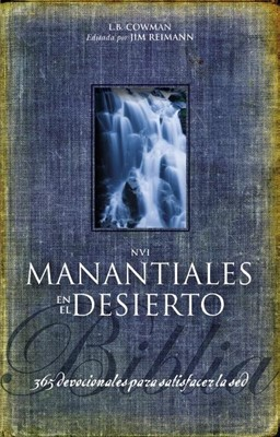 Biblia NVI Manantiales en el Desierto (Tapa Suave) [Biblia]