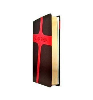 Biblia Letra Grande Vinil Marrón