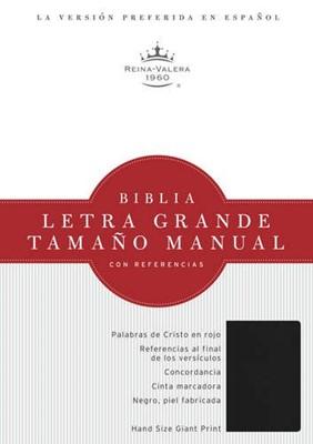 Biblia Letra Grande Imitación Cuero Negro (Tapa Suave) [Biblia]