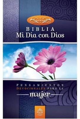 Biblia Mi Día Con Dios (Tapa Rústica) [Biblia]
