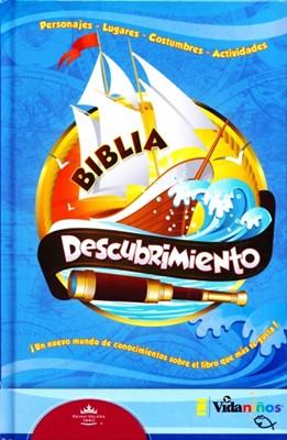 Biblia Descubrimiento (Tapa Dura) [Biblia]