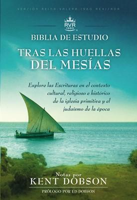 Biblia de Estudio Tras las Huellas del Mesías (Tapa Dura) [Biblia]