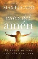 Antes del Amén (Tapa Rústica suave)