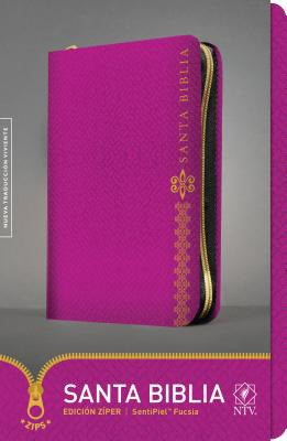Biblia NTV Cierre Fucsia (Tapa Suave) [Biblia]