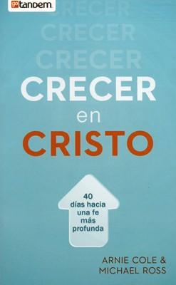 Crecer en Cristo (Tapa Rústica) [Libro Bolsillo]