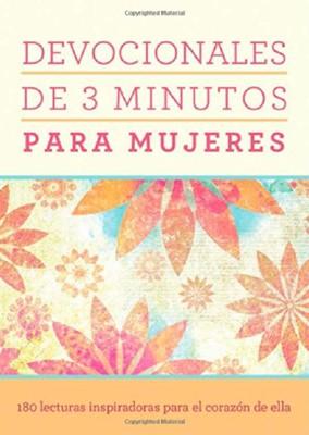 Devocionales de 3 Minutos Para Mujeres (Tapa Rústica) [Libro Bolsillo]