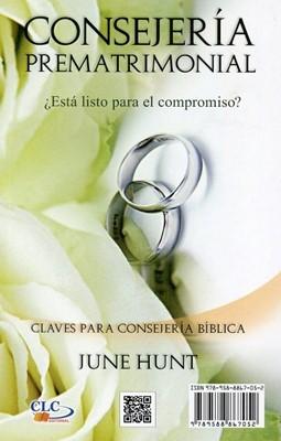 Consejería Prematrimonial / Matrimonio (Tapa Rústica) [Libro Bolsillo]