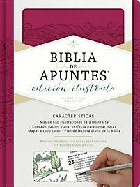 Biblia de Apuntes Simil Piel Rosado