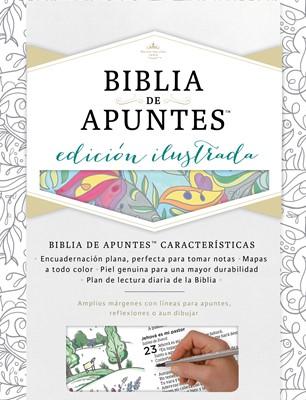 Biblia de Apuntes Tela Blanco (Tapa Dura) [Biblia]