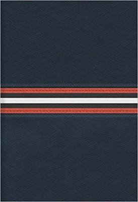 Biblia Letra Grande con Cierre Azul Marino (Tapa Suave) [Biblia]