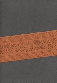 Biblia Letra Grande con Cierre Gris/Marron (Tapa Suave) [Biblia]