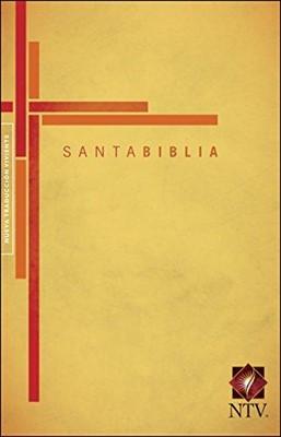 Biblia NTV Cruz Amarilla Rústica (Tapa Rústica) [Biblia]