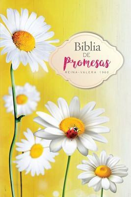 Biblia de Promesas Flores (Tapa Rústica) [Biblia]