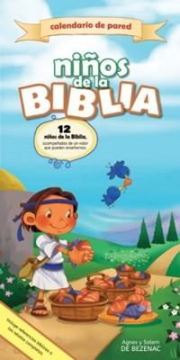 Calendario de Pared para Niños de la Biblia