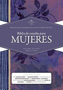 Biblia Estudio Mujeres Violeta (Tapa Dura) [Biblia]