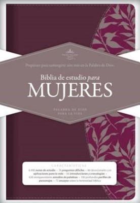 Biblia Estudio Para Mujeres Fucsia/Vino (Tapa Suave) [Biblia]
