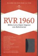 Biblia Letra Super Gigante Negro/Gris (Tapa Suave) [Biblia]