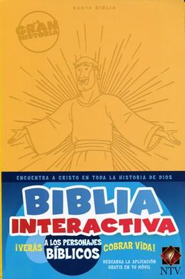 Biblia Interactiva Ntv Amarillo (Tapa Suave) [Biblia]