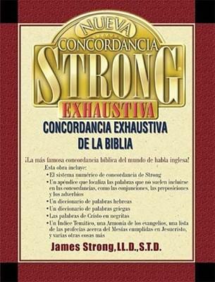 Concordancia Exhaustiva Strong (Tapa Dura) [Libro]