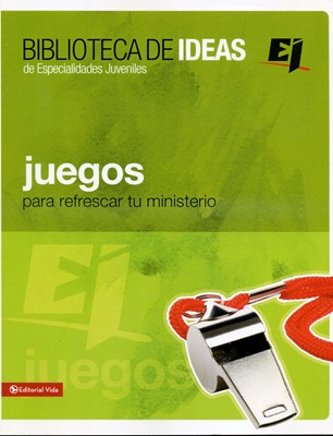 Juegos Para Refrescar tu Ministerio (Tapa Rústica) [Manual]