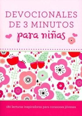 Devocionales en 3 Minutos Para Niñas (Tapa Rústica) [Libro Bolsillo]